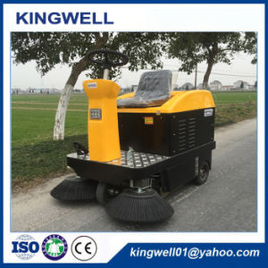 Rechargeable Mini Road Sweeper Street Cleaning Vehicle for Sale (KW-1050) pictures & photos
