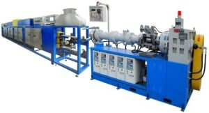 Rubber Extrusion Vulcanization Line (3 layers) pictures & photos