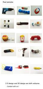 Wholesale Custom 3D PVC USB Flash Pen Drive for Free Sample (EG013) pictures & photos