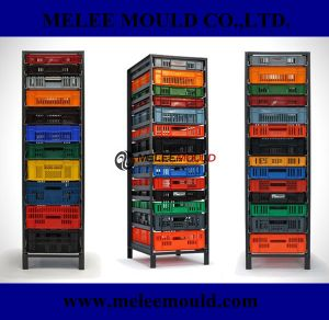 Recylced Plastic Crates Turned Home Storage Solution Mould pictures & photos