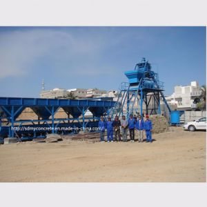50m3/H Automatic Concrete Mixing Plant