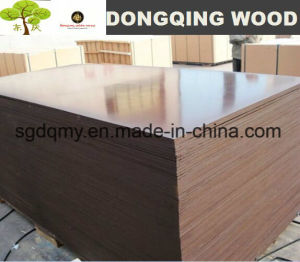 15mm Shuttering Plywood with Poplar Core Melamine Glue pictures & photos
