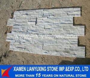 Mixed White Natural Cleft Quartz Stone Wall Veneer
