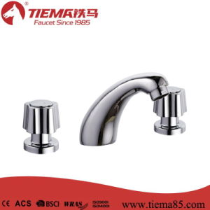 Concealed Brass Body Two Handle Basin Mixer (ZS2813) pictures & photos
