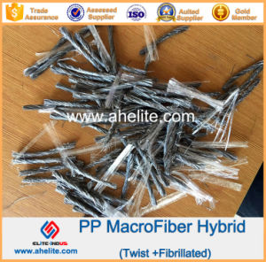 100% Virgin Polypropylene PP Fiber for Concrete Reinforcement pictures & photos