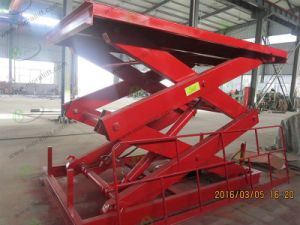 Fixed Warehouse Cargo Lifting Scissor Lift (SJG) pictures & photos