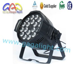 Newest 18*15W RGBWA 5in1 Indoor DMX LED Stage Lighting pictures & photos