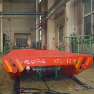Material Handling Motorized Electric Transfer Cart (KPJ-55T) pictures & photos