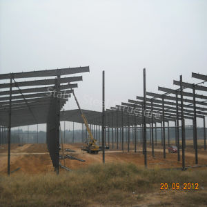 Light Steel Structure Construction Prefabricated Workshop with Rich Experience pictures & photos