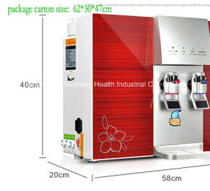RO Water Purifier with Built-in Tank and Hot/Cold Water Dispenser pictures & photos