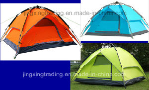 Polyester Waterproof Automatic Camping Tent for 3 - 4 Persons (JX-CT031-1) pictures & photos