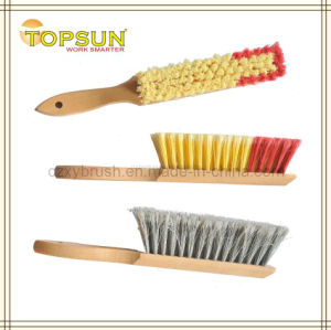 "13"" Split-Tip Counter Duster with Wooden Handle"
