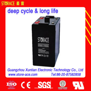 2V 600ah Good Quality Deep Cycle Battery pictures & photos