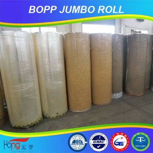 BOPP Jumbo Roll Adhesive Tape in Guangdong for Packing