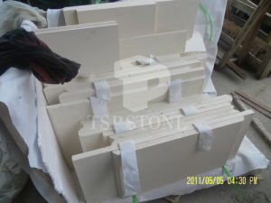 White Limestone Floor Paving Tile pictures & photos