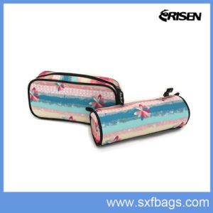 Polyester Colorful Fashion Zipper Pencil Case pictures & photos