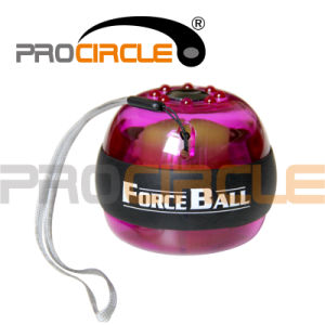 Fitness Equipment Gyroscopic Wrist and Forearm Exerciser Force Ball (PC-FB2001) pictures & photos
