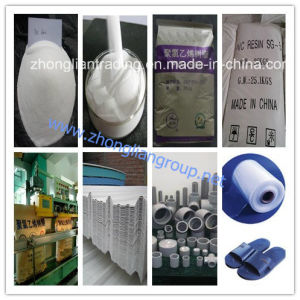 Polyvinyl Chloride Resin (PVC resin K67) pictures & photos