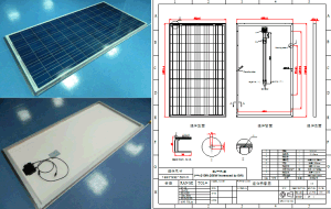 250W Polycrystalline Solar Panel PV Module with Ce RoHS FCC TUV Certification pictures & photos
