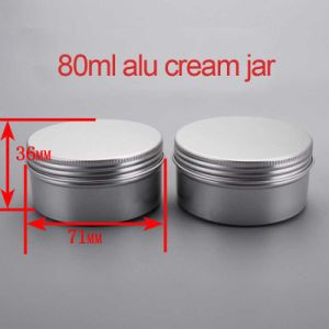 80g Hand/Facial Cream Aluminium Screw Capcontainer/Jar/Cans pictures & photos