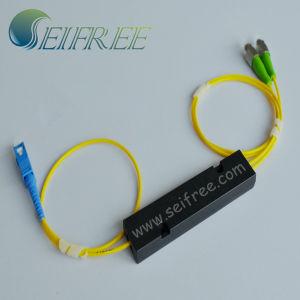 1X2 Optical Fiber FTTH CATV Splitter (Passive Optical Network) pictures & photos