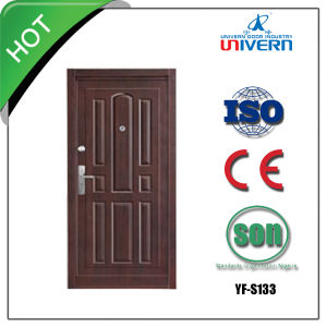 Safety Door Design in Metal pictures & photos