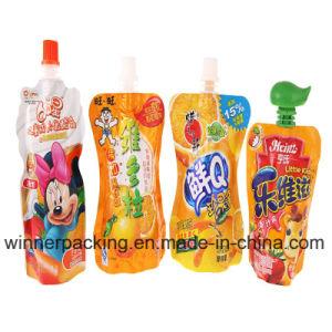 Plastic Stand-up Yogurt Packaging Bag