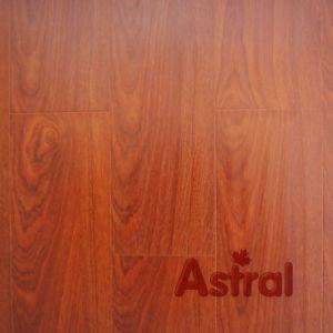 Handscraped Grain Surface (U-Groove) Laminate Flooring (9107) pictures & photos