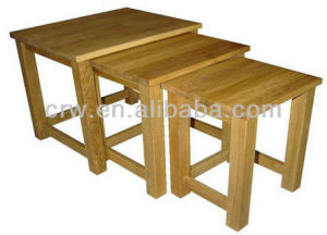 Design Space Saving Nesting Wooden Standard Export Packaging Tables pictures & photos