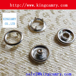 Prong Snap Button Snap Clip Buttons for Handbag and Clothing pictures & photos