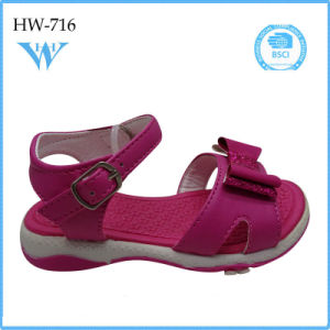 Newest Children Girls Shoes High Quality Soft Shoes Casual Sandal pictures & photos