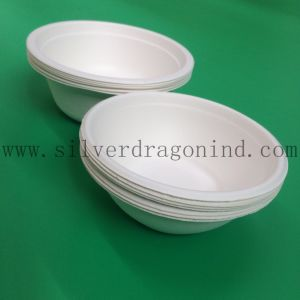 200ml Biodegradable Sugarcane Pulp Paper Bowl for Sauce (Food grade) pictures & photos