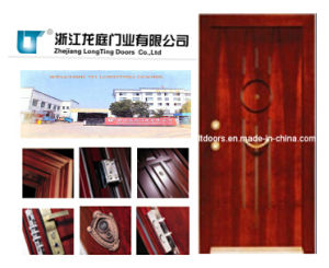 Turkish Style Steel Wooden Armored Door Made in China pictures & photos