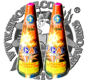 """6"""" Volcano Fountain Fireworks Conic Fountain Fireworks Factory Direct Price pictures & photos"""