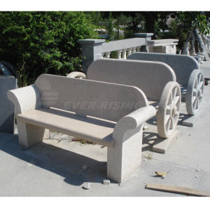EL1005 G682 China Beige Granite Garden Benches