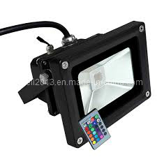 DMX IP65 Color Changing RGB Outdoor 50W Flood LED Garden Light pictures & photos