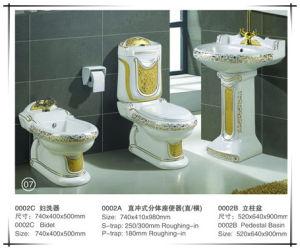 New Luxury Sanitary Ware Set Toilet (0002-4 Set) pictures & photos