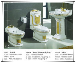 New Luxury Sanitary Ware Set Toilet pictures & photos