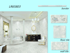 Washroom Blue Wall Ceramic Tile Border pictures & photos
