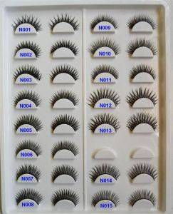 Wholesale Private Logo Package 3D False Eyelashes Silk Mink Eyelashes pictures & photos