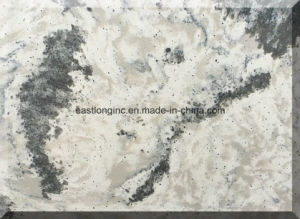 High Quality Marble Color Engineered Quartz Stone pictures & photos