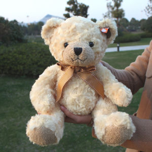 Brand Teddy Bear Toy for Promotion, Can Be Customized, Sitting 25cm, 1PC