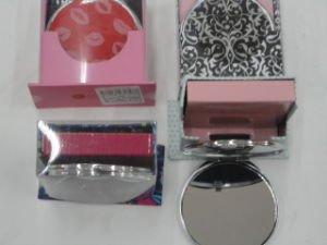 Aluminum Mini Pocket Mirror Makeup Mirror Cosmetic Mirror pictures & photos