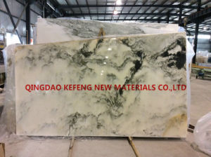 Landscape Painting Whtie Marble Natural Stone pictures & photos