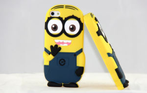 Little Cute Character Cartoon Design Silicone Phone Cover for iPhone 5 pictures & photos