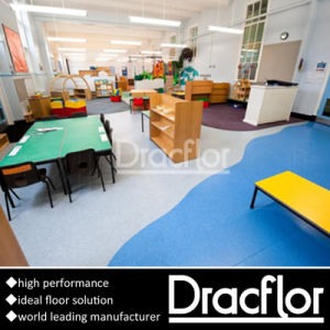 Easy Install Vinyl Flooring Roll for Kindergarten pictures & photos