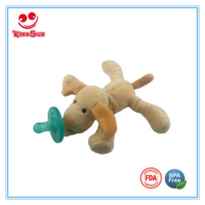 Plush Dummy Animal Pacifier for Newborn as Gift pictures & photos