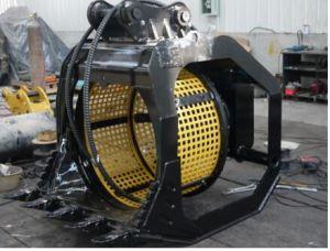 360 Degree Rotating Screen Bucket for Excavator / Hydraulic Screener Bucket pictures & photos