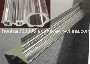 Transparent Pyrex Profile Glass Tube, Glass Rod pictures & photos