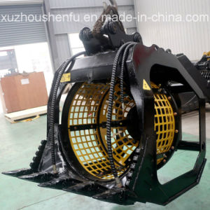 Rotary Screen Bucket for 11t Excavator pictures & photos